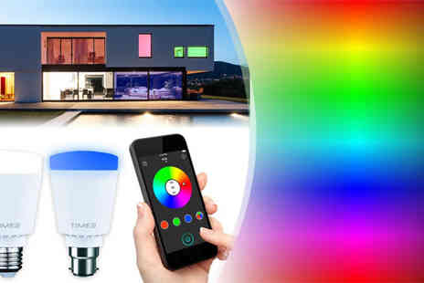 Bibi International - App Controlled Multi Colour Home Lighting System - Save 52%