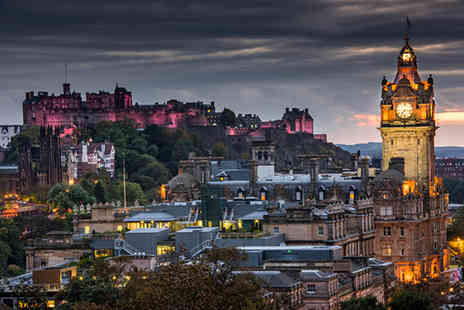 The Omega Holidays Group - Two night weekend Edinburgh break including breakfast and a return train ticket  - Save 0%
