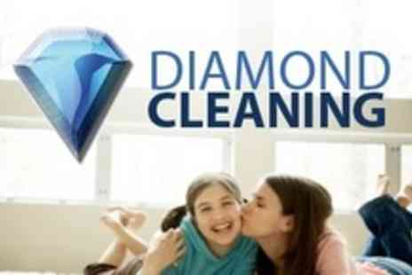 Diamond Cleaning - Carpet Cleaning For Two Rooms Plus Hallway or Stairway or Up to Four Rooms - Save 76%