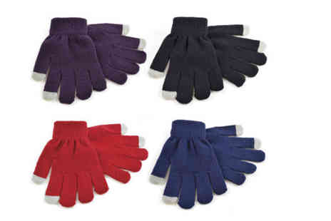Funky Monkey Gift Shop - Pair of kids touchscreen gloves  - Save 85%