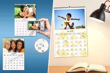 Smiley Hippo - Personalised A4 photo calendar  - Save 71%