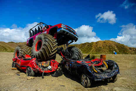 Wicked Adventures - Monster truck hot ride and car crushing experience - Save 52%