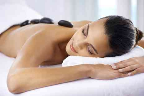 Serenity Hair and Beauty  - 45 Minute Hot Stone Massage on a Chosen Area With Optional Facial  - Save 0%