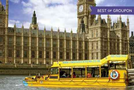 London Duck Tours - Classic Land and River Sightseeing Tour   - Save 27%