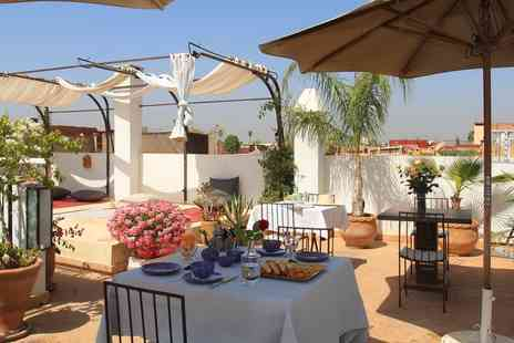 Riad Douceur Mandarine - Two to Nine or Fourteen  Nights stay For Two With Breakfast and Wine With Option for Dinner  - Save 0%