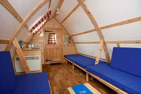 NDAC Wooden Wigwams - One or Two Night Self Catering Wigwam Stay For Up To Five   - Save 0%