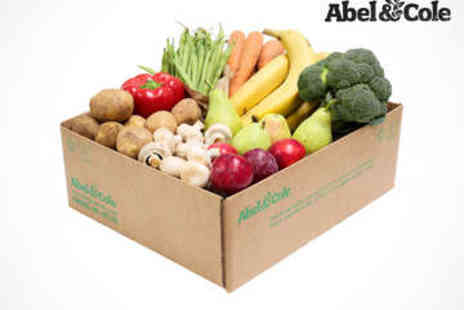 Abel & Cole - Four Fresh Fruit and Veg Boxes, Delivery Including - Save 49%