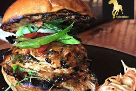 Bath Street Palomino - Pizza, Pasta, or Burger Each for Two - Save 54%