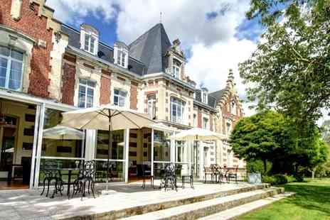 Hotel Chateau Tilques - One, Two or Three Night in a 4* Château, short drive from Calais with  breakfast & 1 dinner - Save 0%