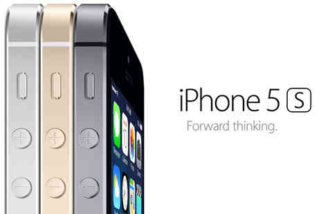 Click Wrap - iPhone 5S 32GB Silver, Space Grey or Gold - Save 50%