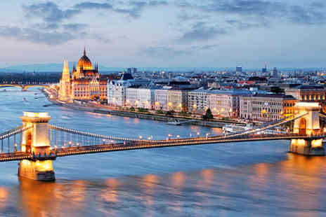 Jetline Holidays - Two or Three Nights in Budapest with Flights - Save 50%