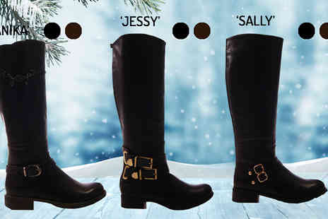 Solewish - Womens Knee High Boots - Save 74%