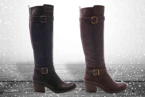 Solewish - Womens Knee High Winter Boots - Save 74%