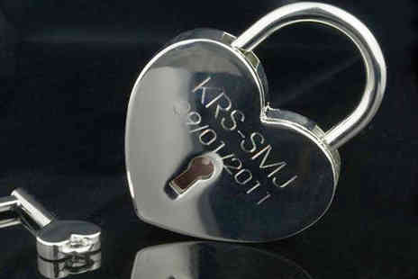 Aspire - Personalised love lock - Save 79%