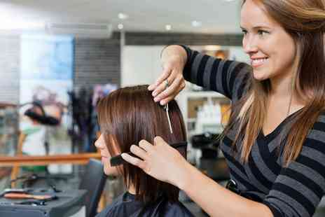 Happy Hair - unisex salon  Wash, Cut, Blow Dry and a Conditioning Treatment  - Save 0%