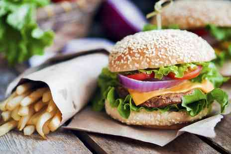 The Anchor Inn - Choice of Burger for One  - Save 0%