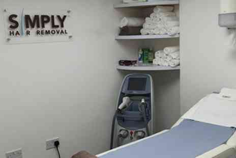 Simply Hair Removal - Waxing Services  - Save 71%