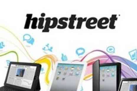Hipstreet - Leather iPad 2 or iPad 3 Compatible Case With Keyboard - Save 61%