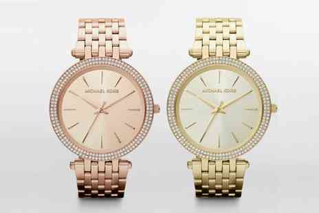 Outlet perfumes - Ladies Michael Kors Darci Watch Made With SWAROVSKI ELEMENTS With Free Delivery - Save 33%