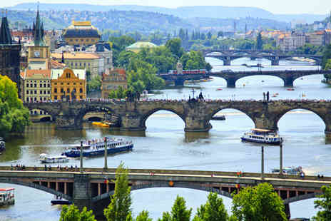 Jetline Holidays - Two or Three Nights Prague Break with Flights - Save 54%