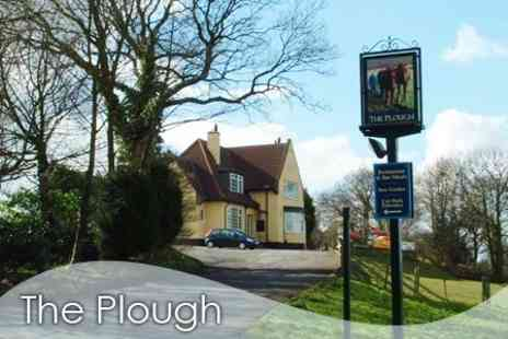 The Plough Inn - £18 for Two Course Meal and Large Glass of  Wine For Two - Save 63%