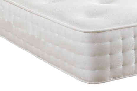 Sir Sleep A Lot - Luxury Memory Foam Pocket 3000 Mattress - Save 77%