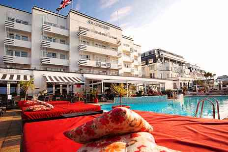 The Cumberland  - Art Deco Bournemouth Hotel Stay with Dinner - Save 55%