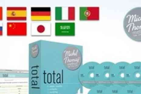 Michel Thomas Method - Language course for Europe - Save 59%