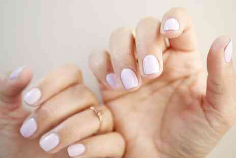 Aura Hair Studio - Manicure with Optional Gel or Acrylic Nails   - Save 40%