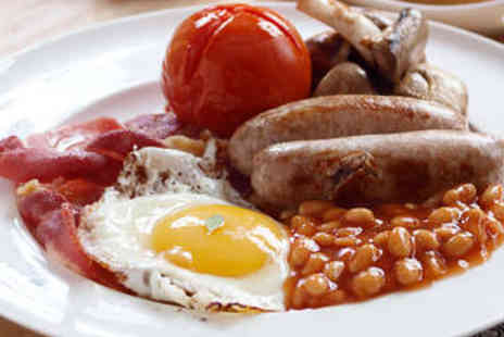 Three Kings Tea Rooms - All Day Breakfast for Two - Save 40%