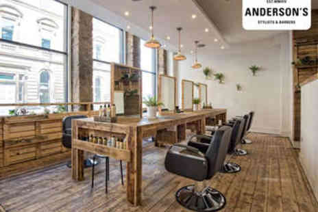 Andersons Hair Salon - Haircut, Blow Dry, and Conditioning Treatment - Save 68%