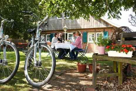Bicycle Round Trip - Four or Six Night cycle tour of German region of Emsland incl. hotel stays plus half board - Save 28%