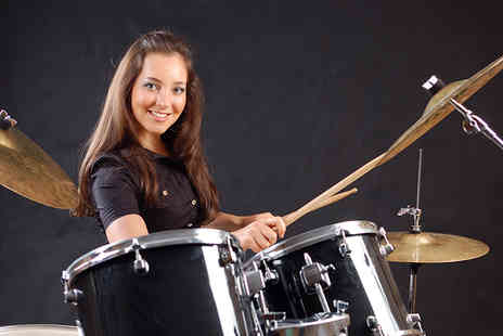 Jim Farey Drummer - One hour private drum lessons - Save 85%