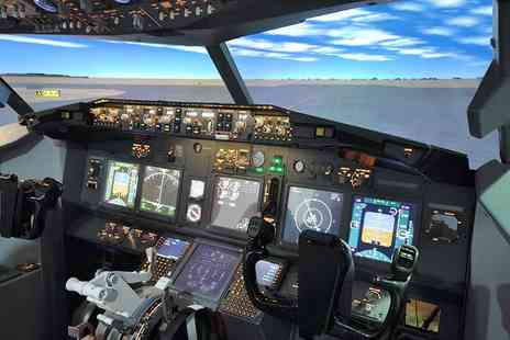 Ravenair Flight Simulation - 30 minute flight simulator session for up to two  - Save 52%