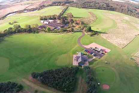 Maverston Golf Course - 18 Holes of Golf with Bacon Roll and Coffee for Two  - Save 68%