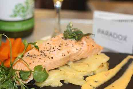 Paradox Heswall - Four Cocktails with an Optional Seafood or Ribs and Burgers Platter  - Save 59%