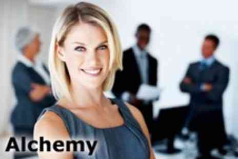 Alchemy Training - Choice of half day Self Improvement Courses plus a free online course - Save 94%