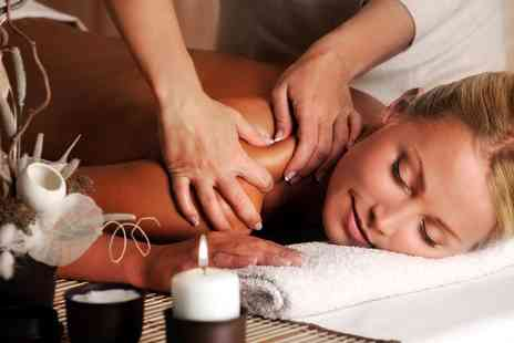 Earth Center - One Hour Aromatherapy Massage - Save 51%