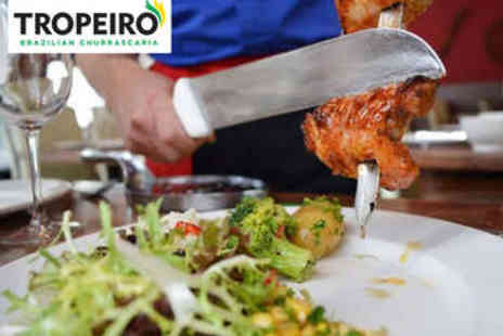 Tropeiro - Unlimited Brazilian Lunch and Drink for Two - Save 60%