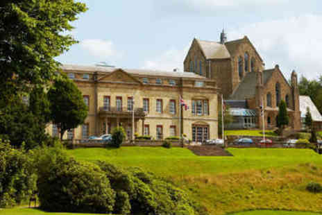The Shrigley Hall Hotel - Round of Golf for Two with Sandwiches and Fries - Save 54%
