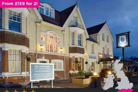 The Spinnaker - Two night 4 star Isle of Wight Getaway plus Dinner - Save 41%