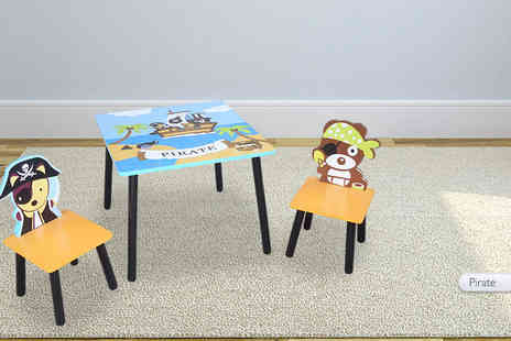 Home Store Direct - Themed childrens table and chair set - Save 44%