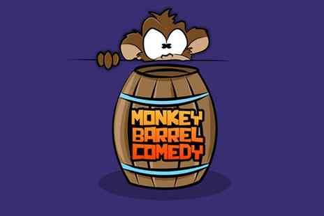 Monkey Barrel Comedy - Two Tickets to Friday or Saturday Night   - Save 50%