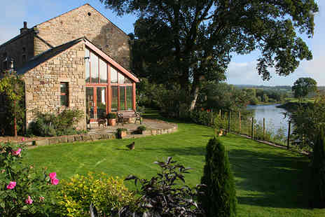 Riverside Barn - Two night break and luxury breakfast hamper for two - Save 39%