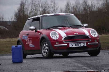Stunt Drive  - Teen stunt driving experience and £30 voucher to use for another experience  - Save 40%