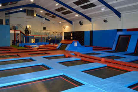 Boing Zone Trampoline Park - Trampoline team building day for up to 20  - Save 23%