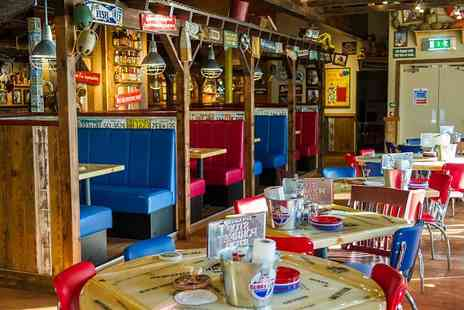 Bubba Gump  - Two Course Meal and Drink for One - Save 44%