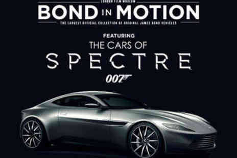 London Film Museum - Ticket to Bond in Motion  - Save 31%