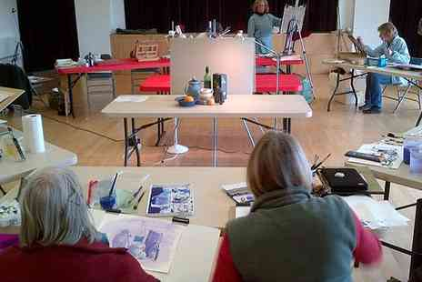 Max Hale Art - Drawing Course in Gloucestershire or Drawing and Painting Course - Save 66%
