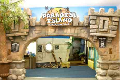 Paradise Island Adventure Golf Sheffield - 18 Holes of Adventure Golf For Two - Save 40%